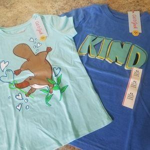 Cat &Jack Custom Bundle XS Tshirts